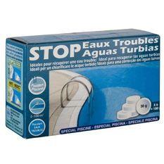 GRE Pastilles Stop eaux troubles - 180 g