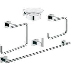 GROHE Set d'accessoires 5 en 1 Essentials Cube 40758001