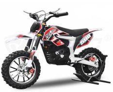 Guépard Deluxe 500W lithium 36V rouge 10/10 pouces Pocket bike électrique