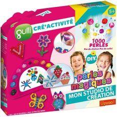 GULLI CREACTIVITE 430343 - Mon Studio Création de perles a coller 1000 perles