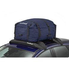 HANDIWORLD HandiHoldall Capacité 330 Litres - Coffre de toit souple - Pliable - Résistant aux intempéries - Bleu