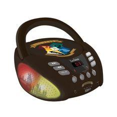 HARRY POTTER - Lecteur CD Bluetooth - Effets lumineux