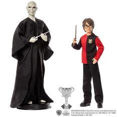 HARRY POTTER Poupées Voldemort et Harry Potter