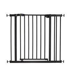 HAUCK Barriere de sécurité enfant close'n stop + extension 9 cm - Charbon