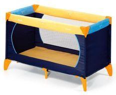 Lit parapluie Dream N Play - jaune/ bleu marine