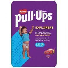 HUGGIES PULL-UPS Couches bébé garçon - Taille 4 - 9 a 18 mois - 8 a 12 kg - Le paquet de 36 couches