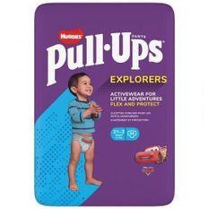 HUGGIES PULL-UPS Couches bébé garçon - Taille 5 - 1 a 3 ans - 12 a 17 kg - Le paquet de 34 couches