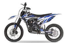 Hurricane 250cc bleu 19/16 pouces Dirt bike nouvelle version