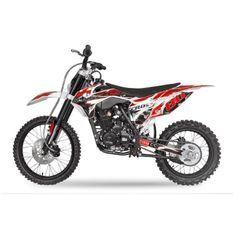 Hurricane 250cc rouge 19/16 pouces Dirt bike nouvelle version