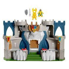 Imaginext - Coffret Château Fort Aventure du Lion avec figurine - Accessoire Figurines - Des 3 ans