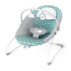 Ity Transat Bouncity Bounce, vibrations apaisantes, arche de jeu avec 2 jouets, déhoussable et lavable en machine - Goji