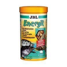 JBL Poissons et crustacés entiers Energil - Pour tortues d'eau et des marais - 1L