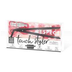 JEAN LOUIS DAVID Touch Styler 39999 - Lisseur tactile futuriste - Céramique - Plaques flottantes - 11 Températures - Gris irrisé