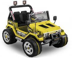 Jeep électrique BMX Jaune