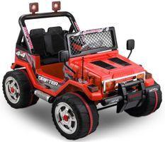 Jeep électrique BMX Rouge