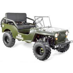 Jeep enfant 150cc automatique verte