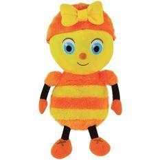 Jemini droles de petites betes peluche mireille l'abeille +/- 25cm