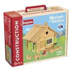 JEUJURA Maison en rondins - 135 pieces