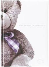 Journal de naissance ourson blanc Souvenir de naissance