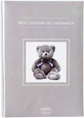 Journal de naissance ourson taupe Souvenir de naissance