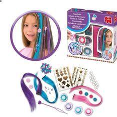 JUMBO 70031 - Studio de coiffure - Création d'extensions avec des perles et des fleurs