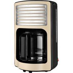 KALORIK TKGCM2500 Cafetiere - Capacité 1,8 L - 1000 W - Beige et noir