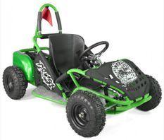 Kart cross électrique 1000W 20AH vert