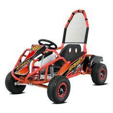 Karting électrique 1000W 48V 20AH rouge Speeder