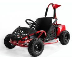 Kart enfant 1000W Gody rouge