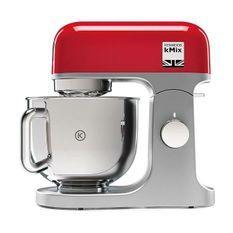 KENWOOD Robot pâtissier KMX750RD - 1000 W - 5 L - Rouge