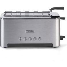 KENWOOD TTM610 Grille pain Persona Fente ajustable 1080W - Aluminium brossé et gris