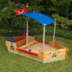 KIDKRAFT 00128 Bac a sable Bateau de pirate