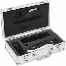 Kit complet coiffure dans une belle valise argentée BTV934 BLACK PEAR