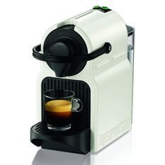 KRUPS YY1530FD Machine expresso a capsules Nespresso Inissia - Pression 19 bars - Blanc