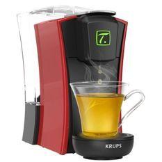 KRUPS YY4120FD Machine a thé Mini. T Rouge