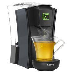 KRUPS YY4121FD Machine a thé Mini. T Noire