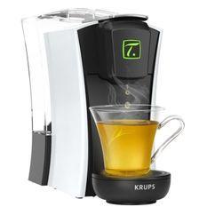 KRUPS YY4122FD Machine a thé Mini. T Blanche