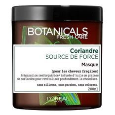 L'OREAL PARIS Botanicals Masque Soin Cure de Force - Pour cheveux abîmés - 200 ml