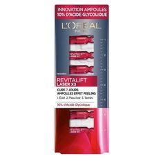L'OREAL PARIS Revitalift Laser Ampoules Effet Peeling cure 7 Jours 10% Acide glycolique - 7 ml