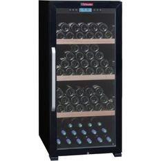 LA SOMMELIERE CTVNE142A - Cave a vin de vieillissement - 149 bouteilles - Pose libre - A - L 59,5 x H 128 cm