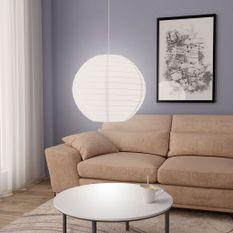 Lampe suspendue Blanc Ø60 cm E27