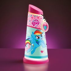 Lampe veilleuse Mon petit poney Go Glow