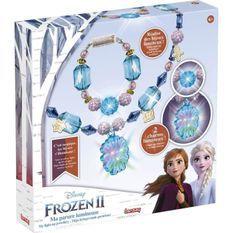 LANSAY La reine des neiges II Création maquillage Ma parure lumineuse - Fille - a partir de 6 ans