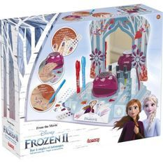 LANSAY La reine des neiges II Mon Bar a ongles et tatouages - Fille - a partir de 5 ans