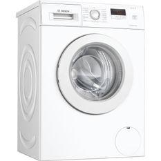 Lave-linge front BOSCH - WAJ28057FF - 7kg - L60 cm - pose-libre - Classe énergie A+++ - 1.400 Tr/min - Blanc