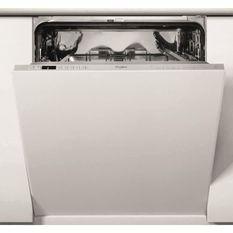 Lave-vaisselle tout intégrable WHIRLPOOL WIC3C34PE - 14 couverts - Induction - L60cm - 44dB - Blanc