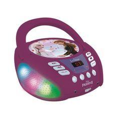 Lecteur CD Bluetooth La Reine des Neiges avec Effets Lumineux