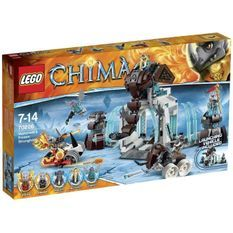 Lego Chima 70226 La Forteresse Glacée du Mammouth