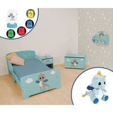 LEON LE DRAGON Pack chambre complet pour enfant