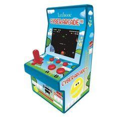LEXIBOOK - Cyber Arcade Console, 200 Jeux, Ecran Couleur LCD 2.8